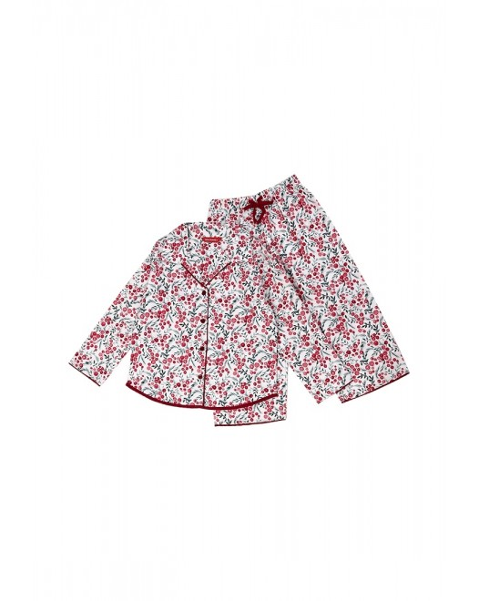 Пижама для девочки Cyberjammies Holly 5307 White Berry