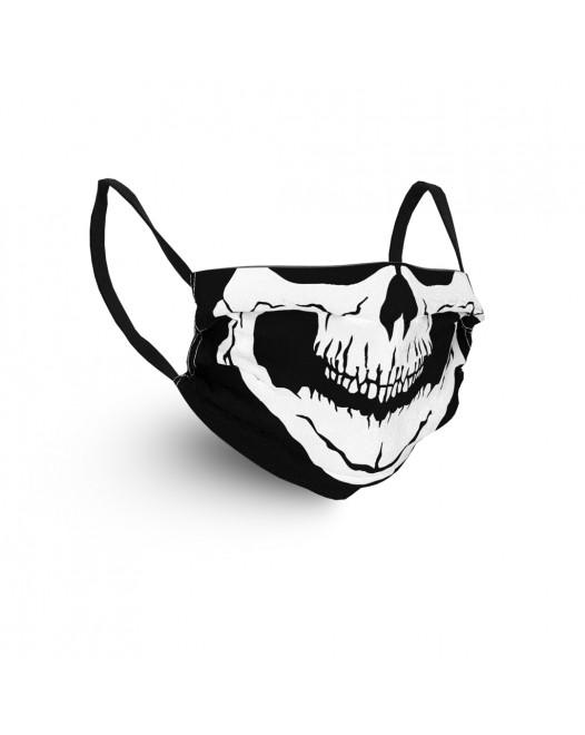 Маска для лица Geronimo black skull 3029 Черно-белый