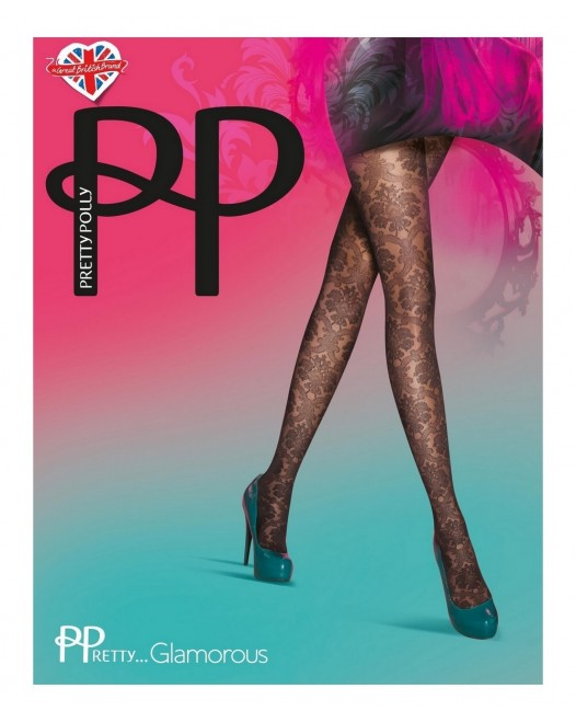 Колготки Pretty Polly Glamorous PNATH4 Black