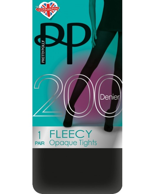 Колготки Pretty Polly Fleecy Tights PNAVA9 Black