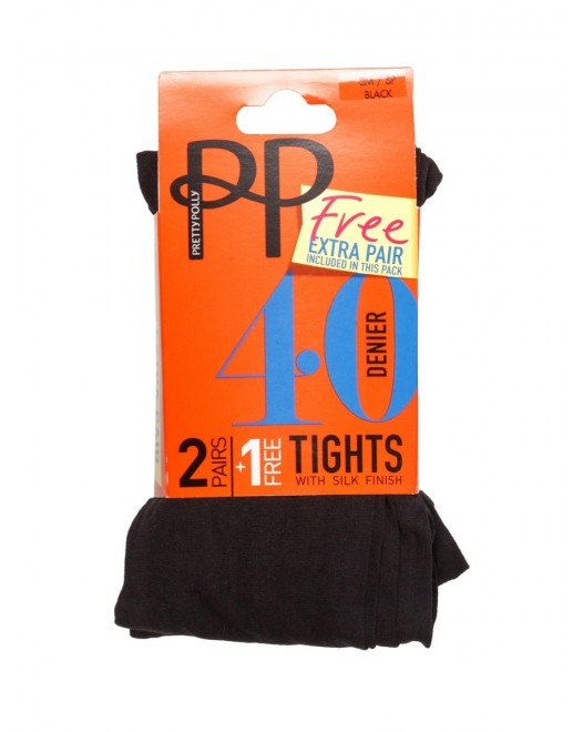 Колготки Pretty Polly 40D Promo PNGRQ7 Black