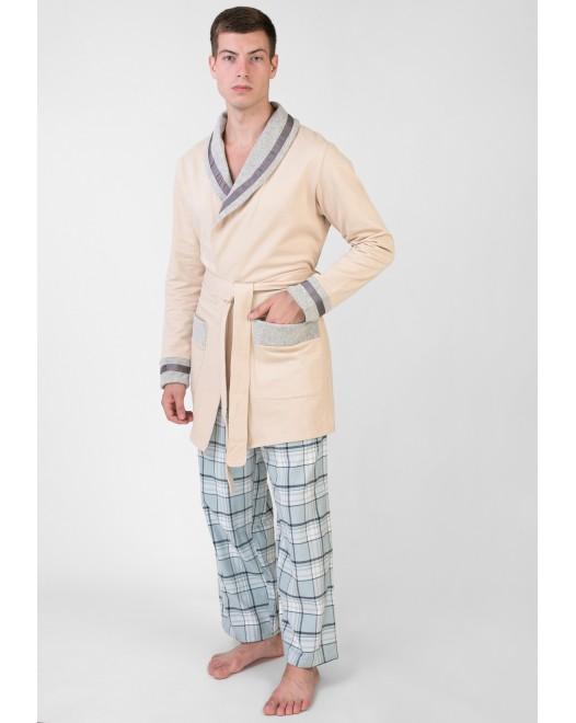 Жакет мужской Homewear Mad 45096G Beige